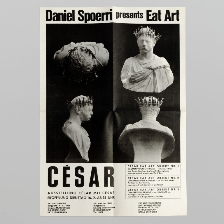 Daniel Spoerri presents Eat Art: César