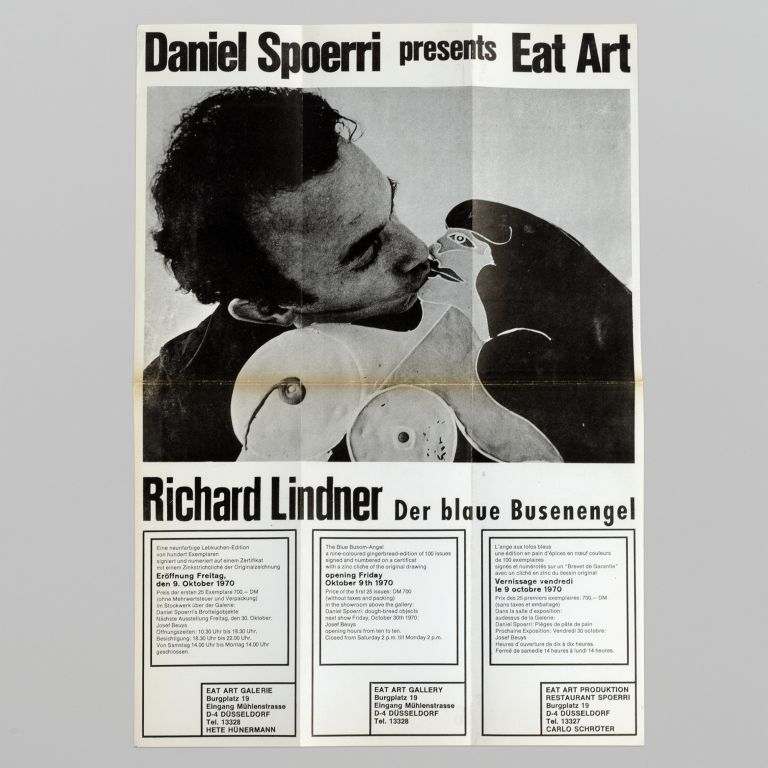 Daniel Spoerri presents Eat Art: Richard Lindner