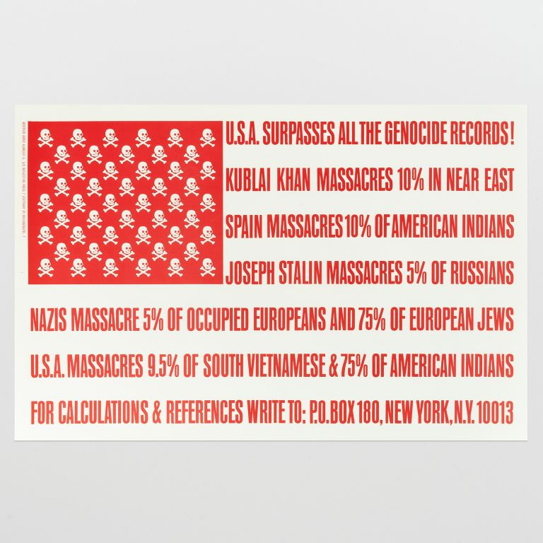 (U.S.A. Surpasses All the Genocide Records!)