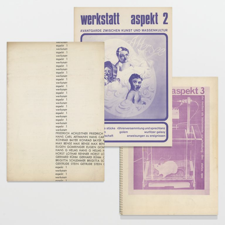 werkstatt aspekt nos. 1 – 3 (all published)