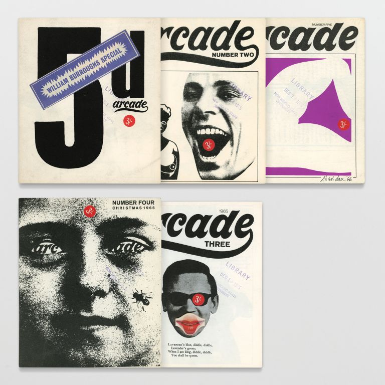 Arcade Nos. 1 – 5 (All published)