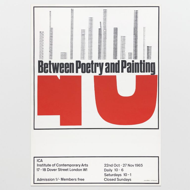 Poster for Between Poetry and Painting