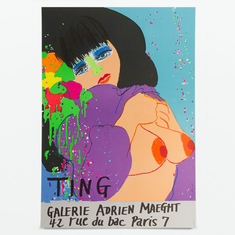 Poster for 1974 exhibition at Galerie Adrien Maeght