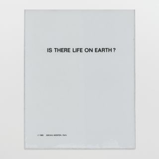 Is there life on earth?