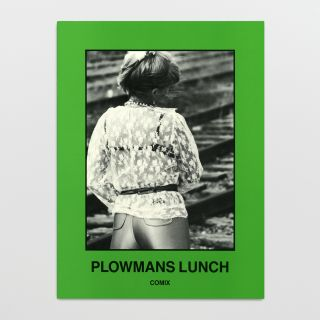 Plowmans Lunch. Comix. with invitation to original 1982 screening