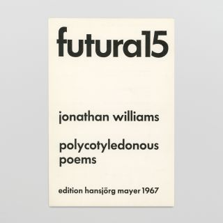 futura 15: polycotyledonous poems