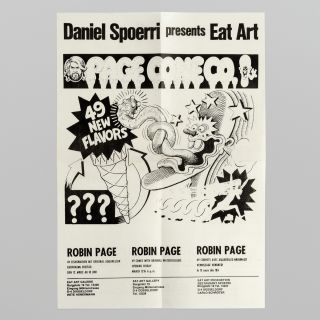 Daniel Spoerri presents Eat Art: Robin Page