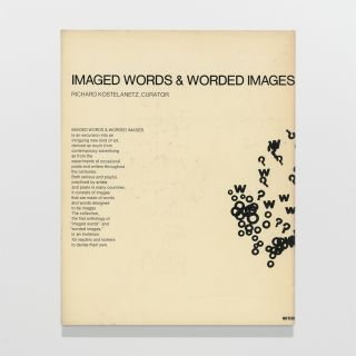 Imaged Words & Worded Images