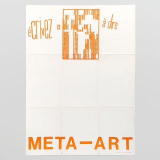 Poster for Meta-Art