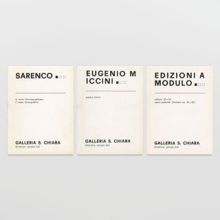 Galleria S. Chiara Nos. 9, 11, and 13