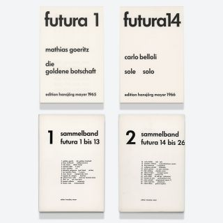 futura nos. 1–26 (all published)