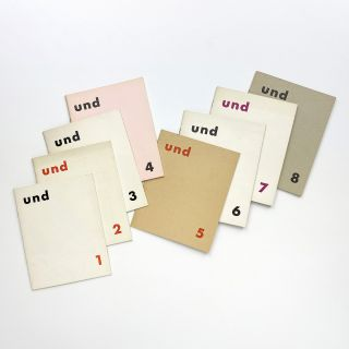 und nos. 1–8 (all published)