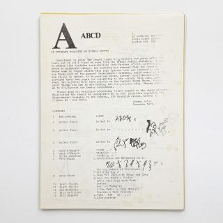 ABC + ABCD [two mostly complete issues in one envelope]